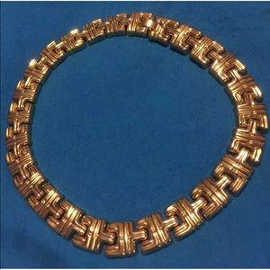 Gold-vintage necklace
